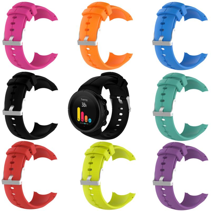 For Suunto Spartan ULTRA Sport Smart Watch Silicone Replacement Wrist Band Strap Waterproof, Sweatpr
