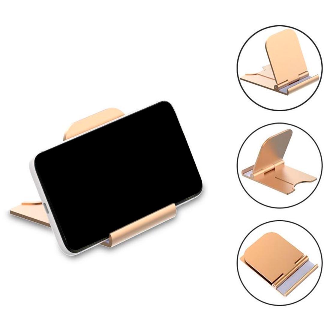 Soporte de mesa plegable Universal para teléfono móvil y soporte de escritorio...
