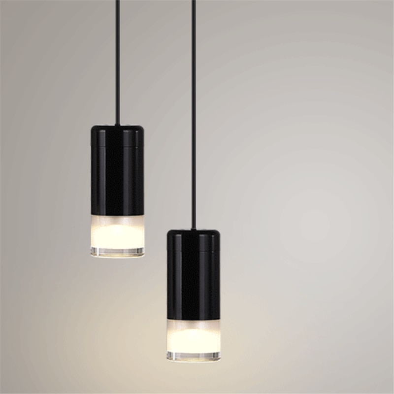 Modern LED Pendant Lights DIY Geometric Lines Simple Line Hanging Lamp String Pendant Lamps LED Living Room Kitchen Fixtures