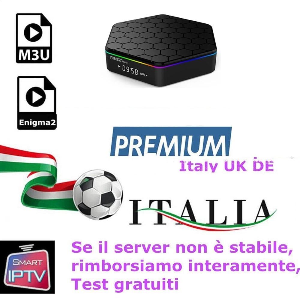 Europa IPTV Italia/Portogallo/España/Belgio/Germania/Paesi Bassi. Android acreedorespor el Caja inteligente TV con smart TV caliente xxx m3u PC Li