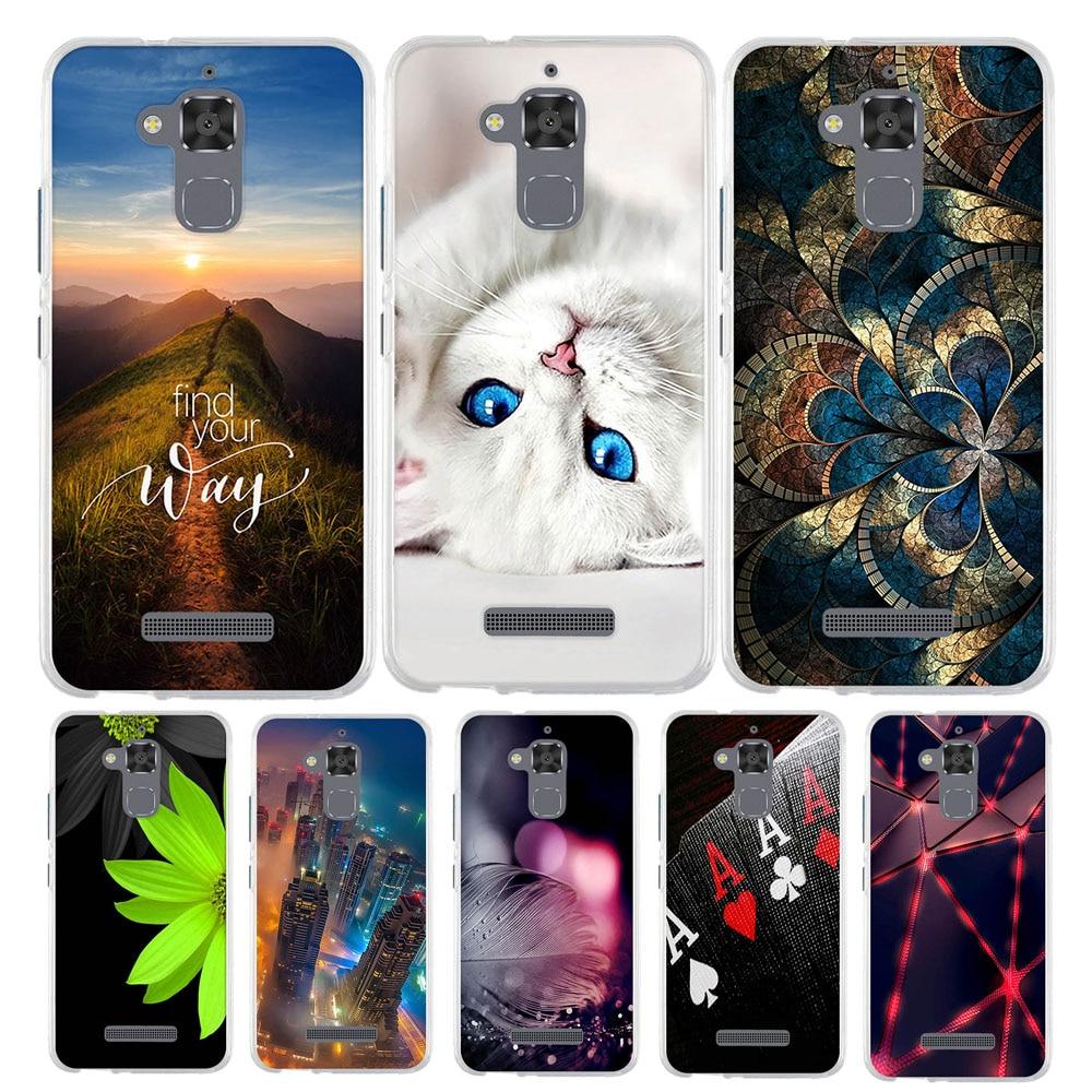 Phone Case Cover For Asus Zenfone 3 Max ZC520TL X008D Zenfone3 Max Zenfone Pegasus 3 horse 3 X008 5.2 Bag Cover Soft Funda Case