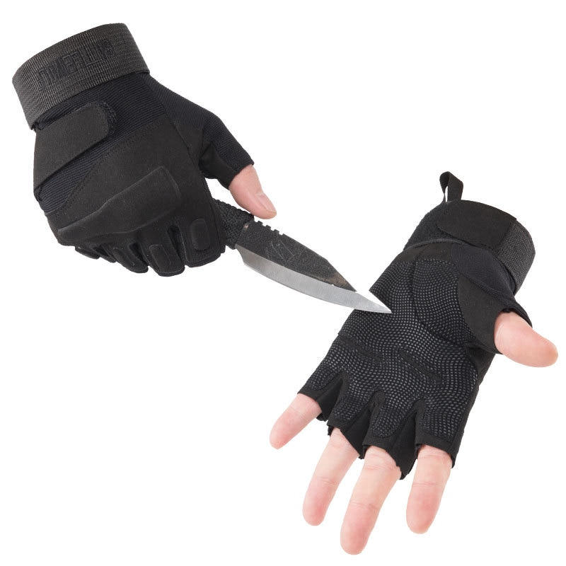 Caza ejército Fans montañismo guantes al aire libre guantes tácticos accesorios medio se refiere a CS protección de combate escalada
