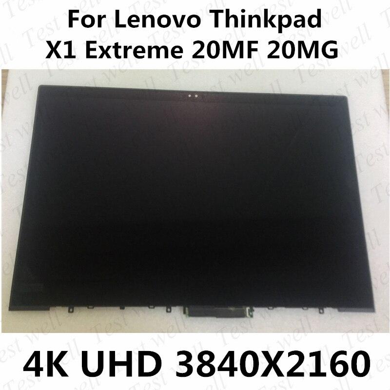 15.6 بوصة لجهاز Lenovo Thinkpad X1 Extreme 20MF 20MG ST50M68092 ، UHD 3840X2160 ، 4K ، 00NY694