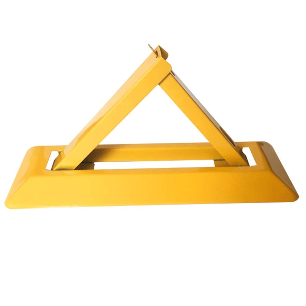 Triangle Parking Locks Outdoor Manual Parking Barrier Lock Car Space Reserved for VIP Car A35 enlarge