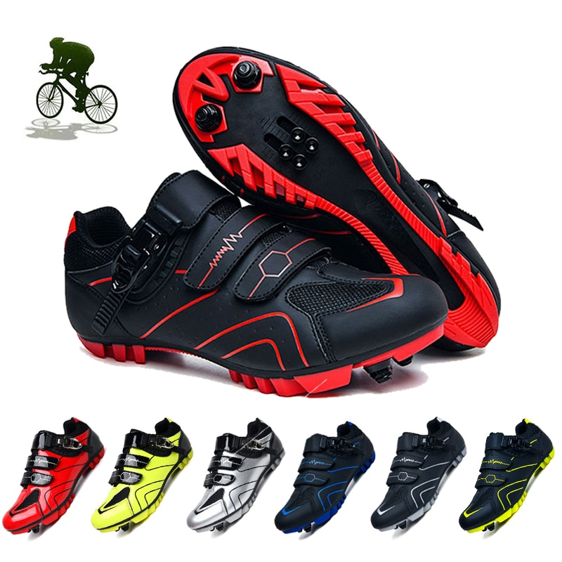 New Mountain Cycling Shoes Men Breathable Sports Bicycle Sneakers Professional Athletic Bike Shoes Sapatilha Spd Ciclismo Female