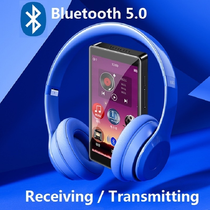 H1 MP4 Player 4.0 inch Full Touch Screen With Bluetooth 5.0 FM Radio Recording E-book Video Music Player Built-in Speaker enlarge