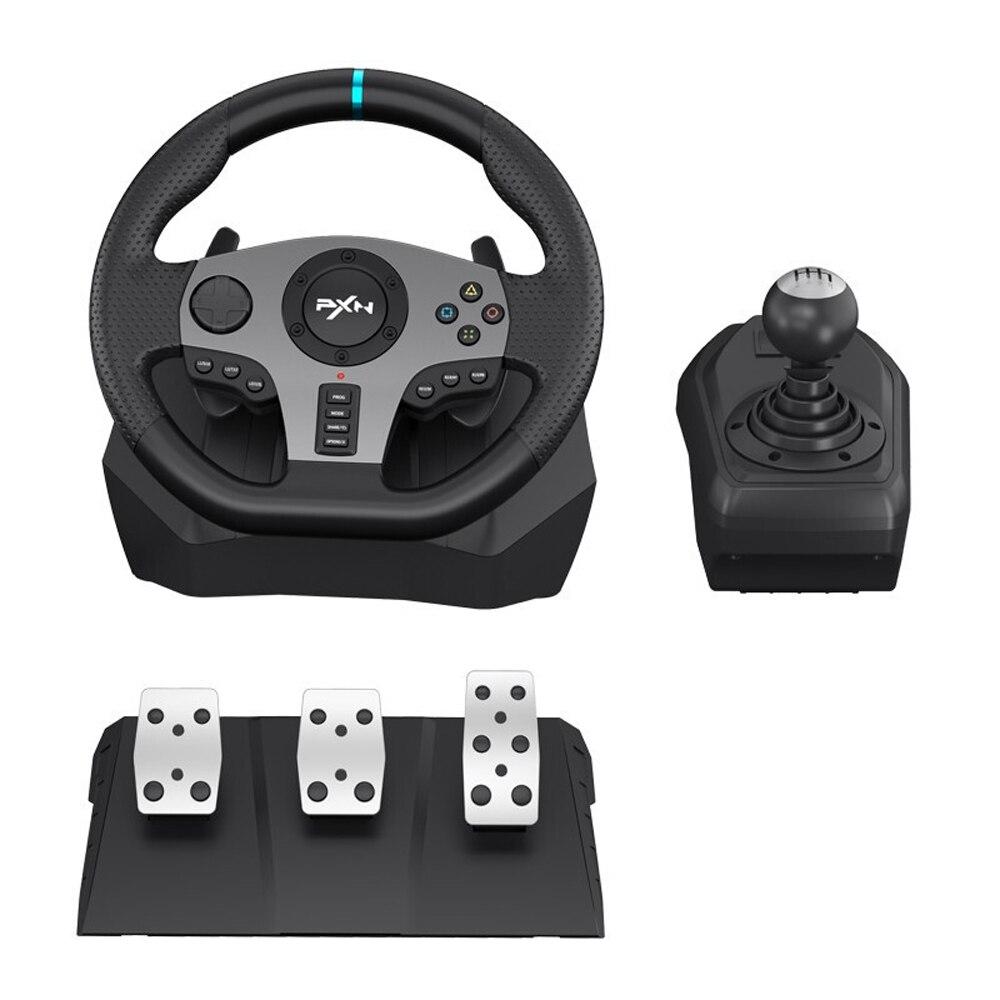 PXN PXN-V9 الألعاب سباق عجلة القيادة دواسة الاهتزاز سباق تحكم لعبة ل PC /PS/إكس بوكس واحد ل NS عجلات القيادة