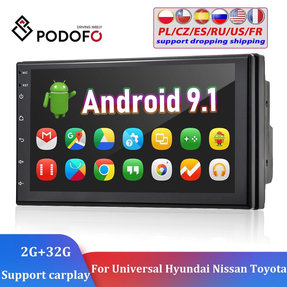 Podofo 2 الدين راديو السيارة لتحديد المواقع أندرويد 7