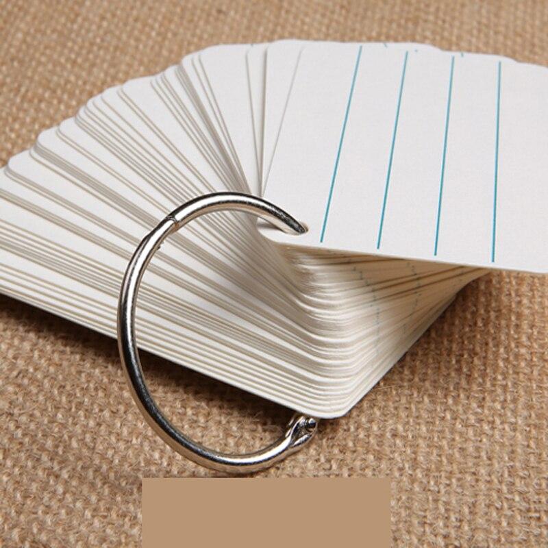 25PCS 25MM word snap ring iron ring binding iron ring metal iron ring ring недорого