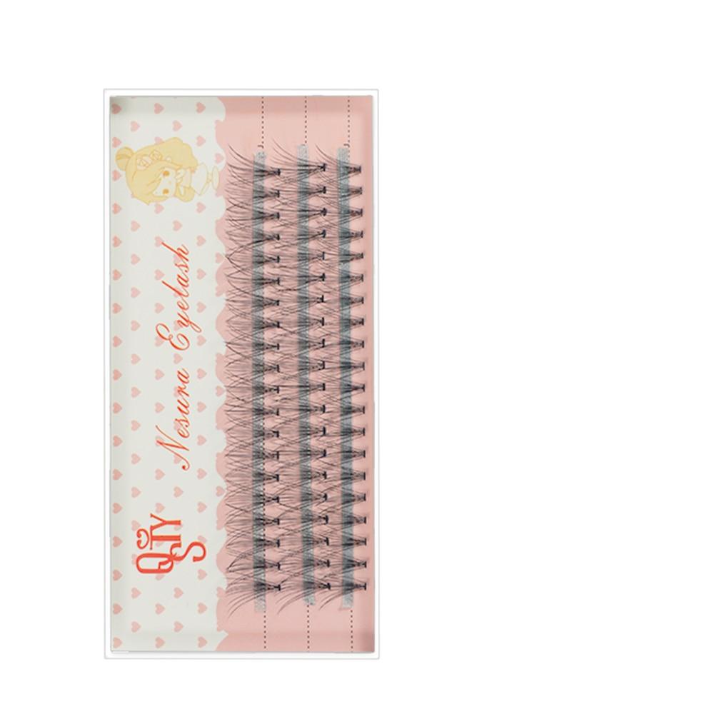 1 estuche para extensiones de pestañas, pestañas postizas negras de visón, 0,07 C, rizo natural, injerto de ojos, pestañas, maquillaje Individual
