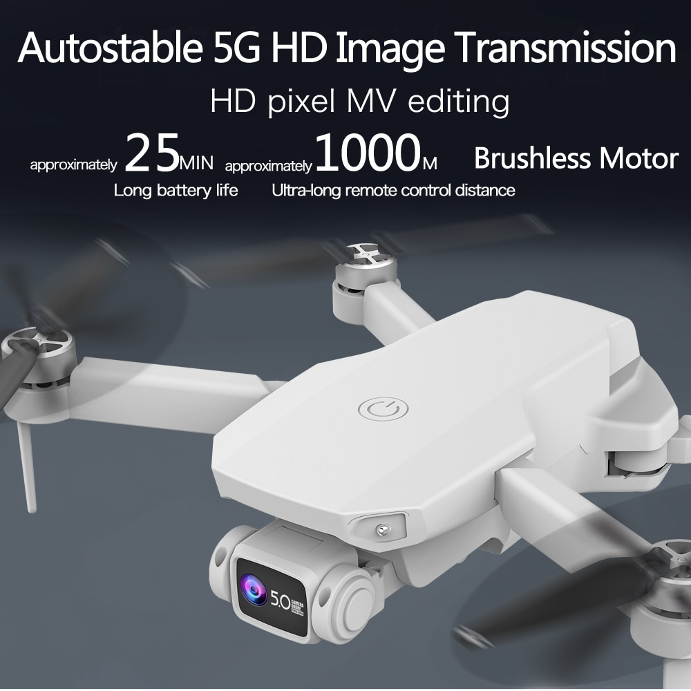 CS003 6K HD Professional Drone 5G Optical Flow GPS Brushless Folding UAV with dual WiFi aerial camera 1000m RC distance/25 mins enlarge