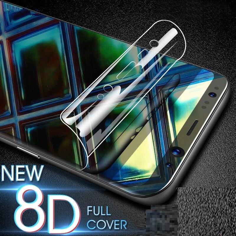 Película de pantalla para Samsung Galaxy J8 2018 J7 J6 J4 Plus J2 Pro 2018, película de hidrogel para J6 Plus 2018 HD en J2 Prime