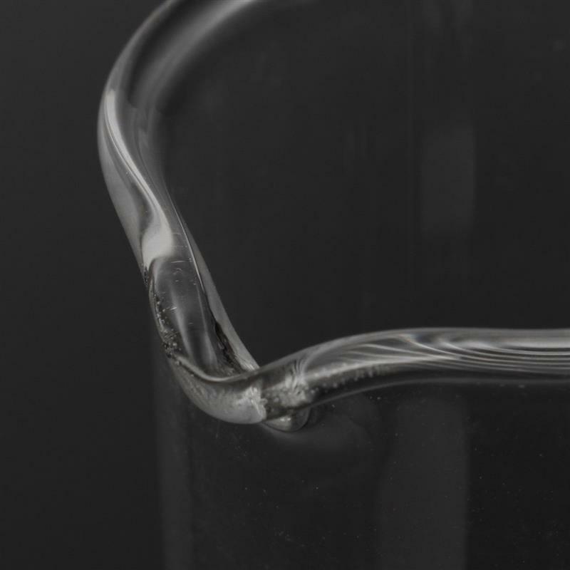 Купить с кэшбэком 1 set of 5ml / 10ml / 25ml / 50ml / 100ml borosilicate glass low beaker chemical laboratory glassware