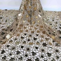 good looking big sequins flowers tulle lace top quality shinny fabric jrb 15 2182503 nigerian material for fashion show dress