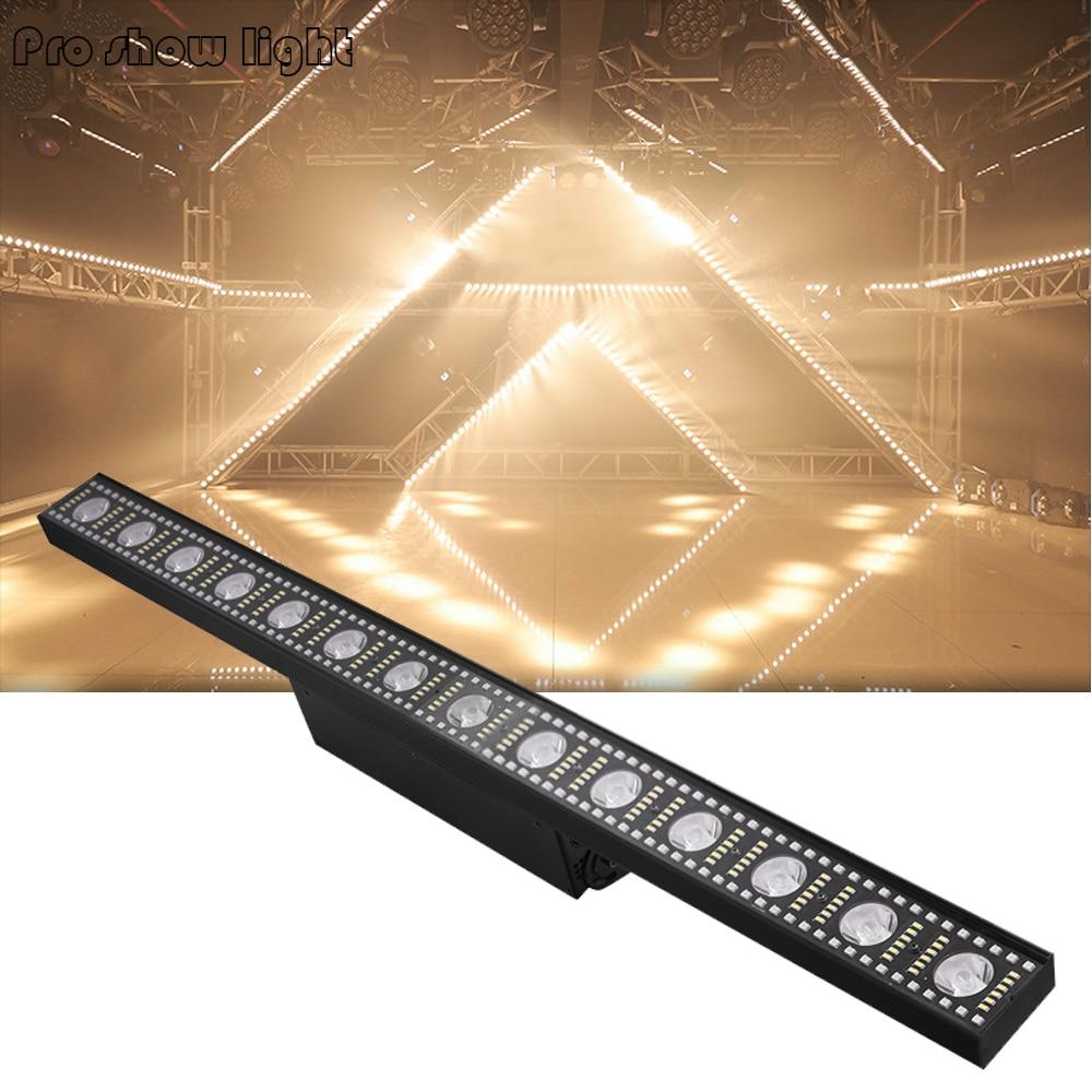 Beam Wash Strobe 3IN1 14X3W LED Wall Washer Light DMX Control 168Pcs 0.5W Cold White Dj Disco Satge Light 168x0.2W Party Light
