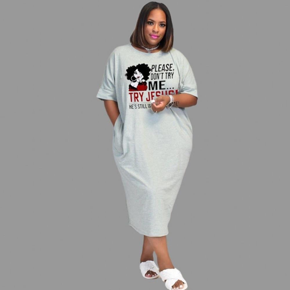 African Dresses For Women Clothes Dress Print Dashiki Ladies Clothing Ankara Plus Size Africa