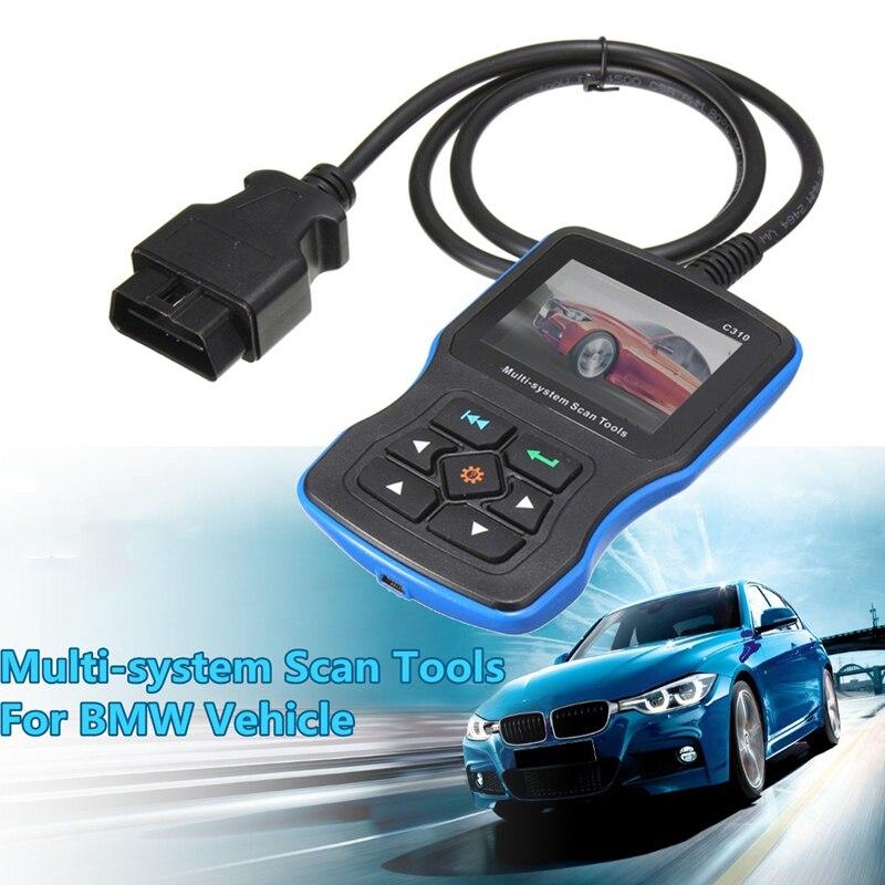 Novedad de 2019, V8.0 Vesion Creator C310, escáner de diagnóstico de coche para BMW e46 e39 e60 e90 e36 x5 OBD2 escáner