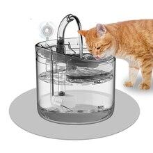 1.8L automatique chat fontaine deau haute densité Filtration Ultra silencieux chiens distributeur deau buveur avec robinet pour chat soins de santé