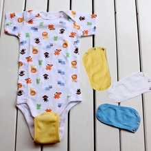 1pcs Baby Jumpsuit Extended Film Cotton Blend Baby Costume Romper Extension Clothes Infant Onesie Ba