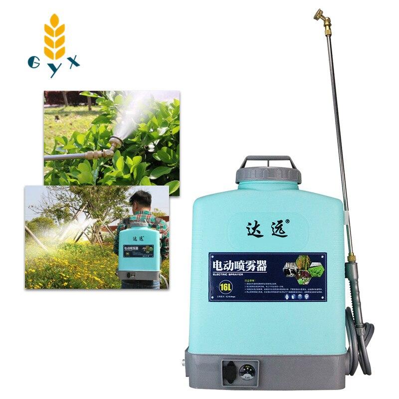 بخاخ كهربائي زراعي عالي الجهد ، سميك ، شحن أوتوماتيكي بالكامل ، لإزالة الأعشاب الضارة ومبيدات للحشرات ، أشجار الفاكهة ، جديد