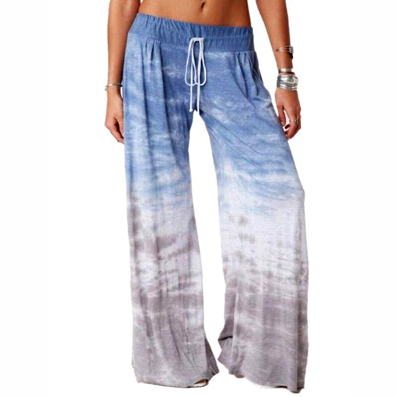 Women's Wide Leg Pants Loose Drawstring 2020 Casual Sports Pants For Women Female Autumn Sweatpants Pantalon Femme Plus Size 5xl