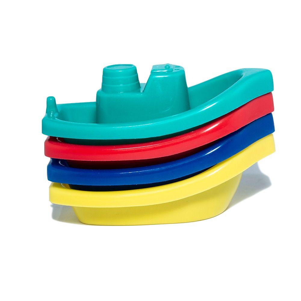 4 шт., плавающий корабль, ванная комната, Детские лодки, Игрушки для ванны, для купания, воды, игры, развлечения, обучающая лодка, игрушки для детского душа