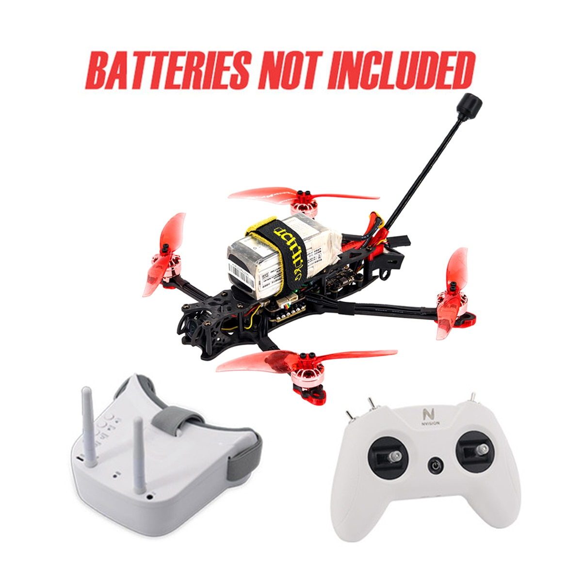 TCMMRC fpv drone kit drone Quadcopter with camera professional rc drone Fpv goggles RC Airplanes FPV 3/4/5 inch Drone multirotor enlarge
