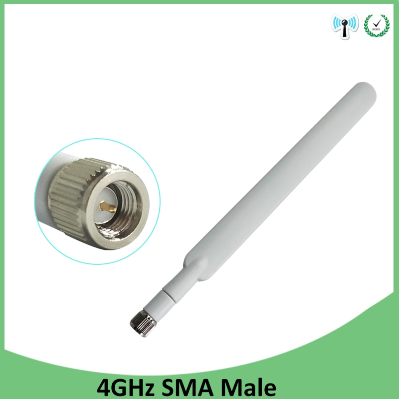 50pcs 4G lte antenna 5dbi SMA Male Connector antenne IOT for huawei b593 4G LTE router external repeater wireless modem antennas