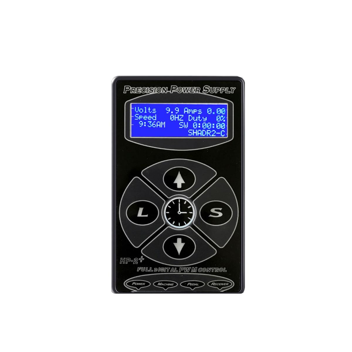 HP-2 fuente de alimentación para tatuaje LCD Digital, máquina de tatuaje giratorio Hurricane, suministros de tatuaje, suministro de energía para maquillaje para tatuaje permanente