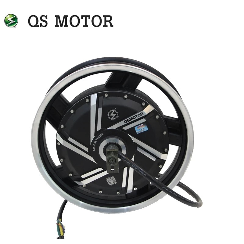 SiAECOSYS QS 16*3.0inch 8000W 273 50H V3 120kph Electric scooter motor with APT FOC AE96600 72V 96V 8kW 10kw Speed controller enlarge