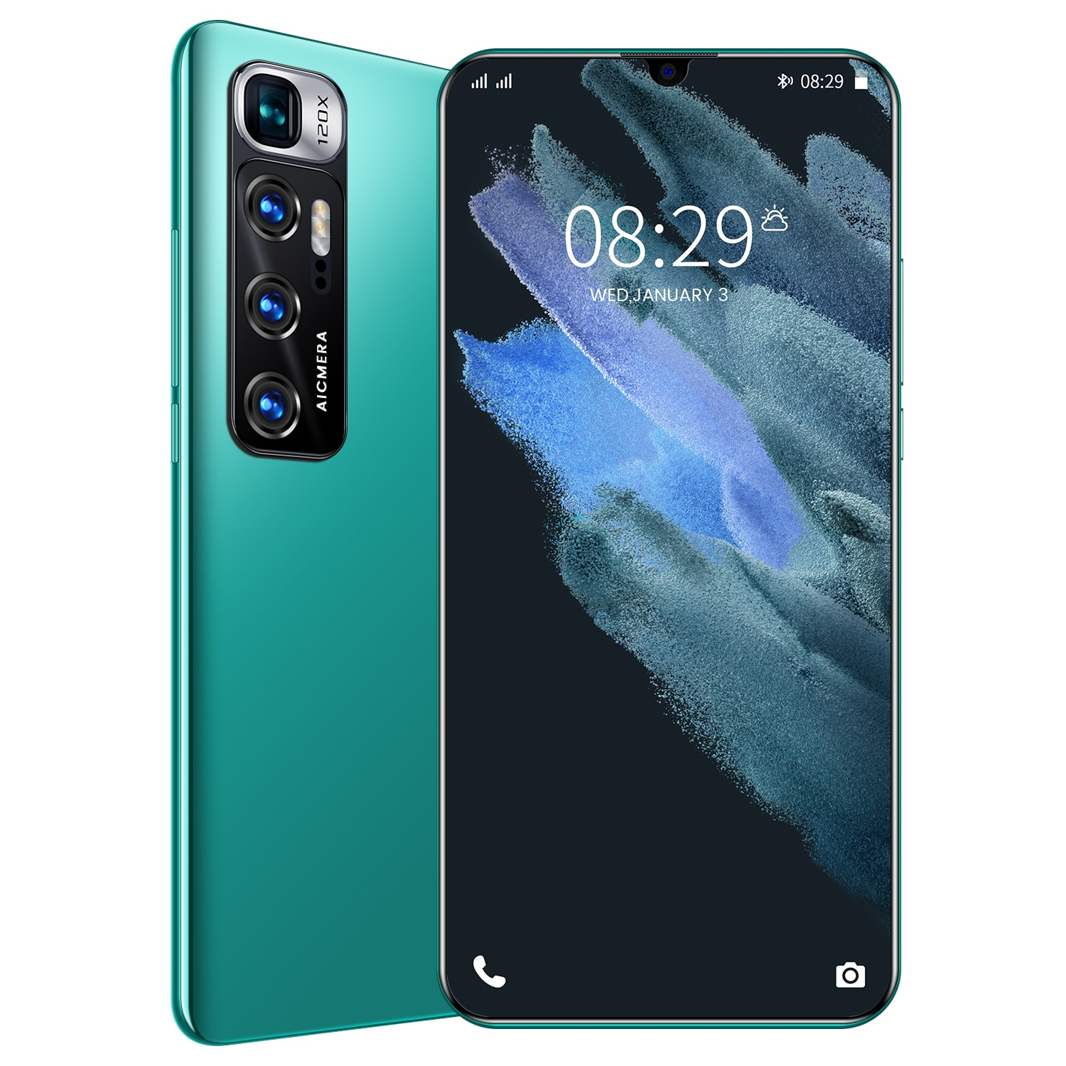 M11 pro Smart phone 6.2 hd smartphone 2GB 32GB 4G network Android Global unlock cell phone Dual SIM Card mobile phone