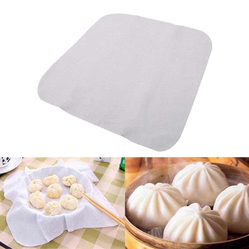Baumwolle Nicht-stick Küche Dampfenden Tuch Machen Gedämpfte Brot Knödel Krabben Süße Kartoffel Reis Kochen Gaze