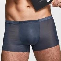 mens sexy ice silk seamless transparent flat boxer briefs pouch men underwear shorts u convex trunks underpants %d0%b1%d0%be%d0%ba%d1%81%d0%b5%d1%80%d1%8b %d0%bc%d1%83%d0%b6%d1%81%d0%ba%d0%b8%d0%b5