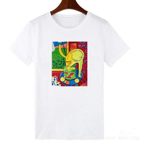 xA8EK9 summer women t shirt female short sleeve cartoon art print tops fashion Harajuku new letter T-shirt new cotton women t shirt friends tv fashion art fashion artwork print short sleeve tops