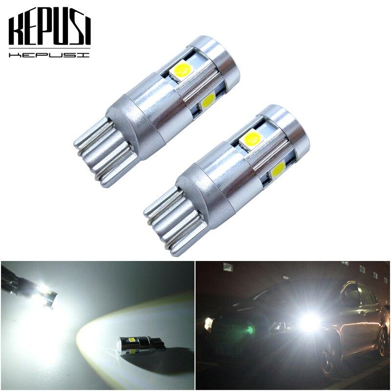 2x W5W T10 светодиодный Canbus лампа для Misubishi Outlander Lancer 10 9 Galant ASX автомобильный внутренний купольный светильник лампа для багажника парковочные огни светильник s 12V