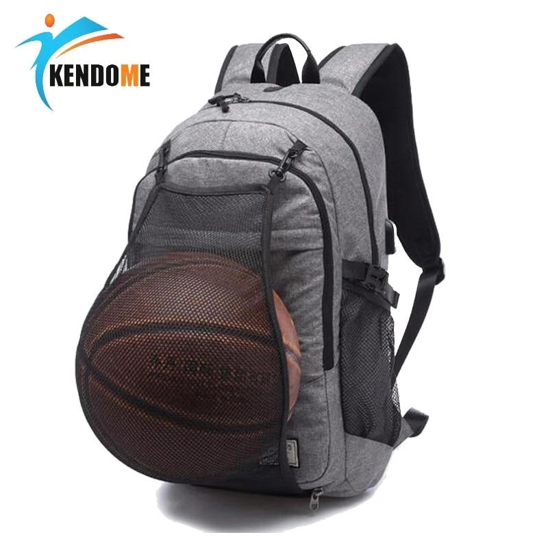حقيبة جيم رياضية لكرة السلة على ظهره حقائب التدريب 2021 الرجال لكرة القدم حقائب الظهر للمدرسة المراهقين بنين محمول حقيبة الظهر مع صافي