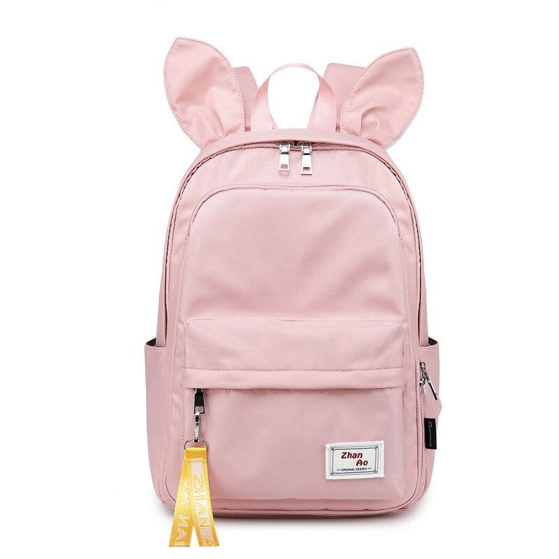 النسخة الكورية حقيبة ظهر بسيطة رائعتين جميلة مناسبة للفتيات والفتيان الجديد 2021 حقيبة كتفية للسفر متعددة الأغراض KM8003