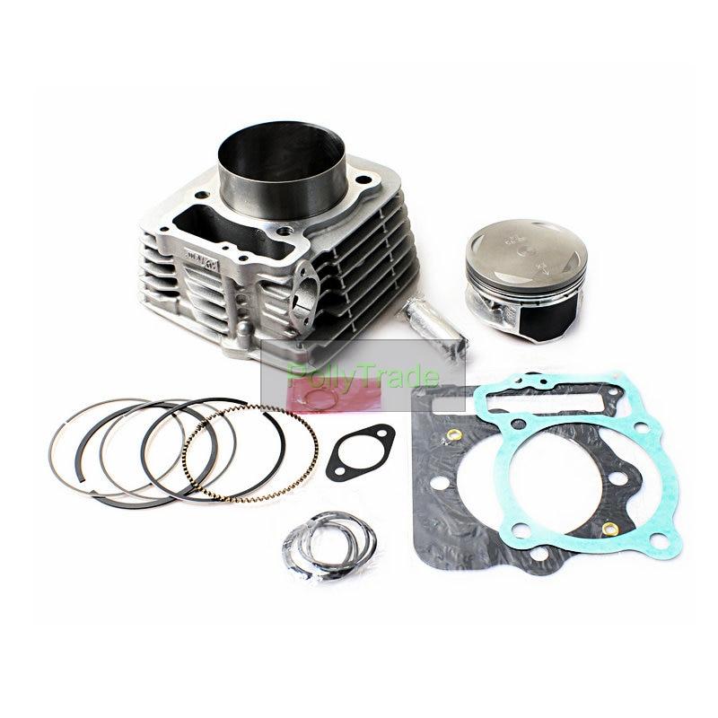 ATV Engine Parts 89mm 440CC Big Bore Cylinder Kit for HONDA Sportrax TRX400 TRX400EX 400cc ATV Quad Bike 1999-2008