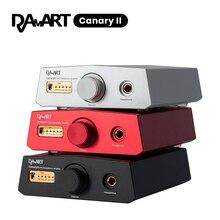 DAART Yulong canari II ESS9038Q2M DSD512 PCM768KHz CanaryII DAC décodage amplificateur de casque