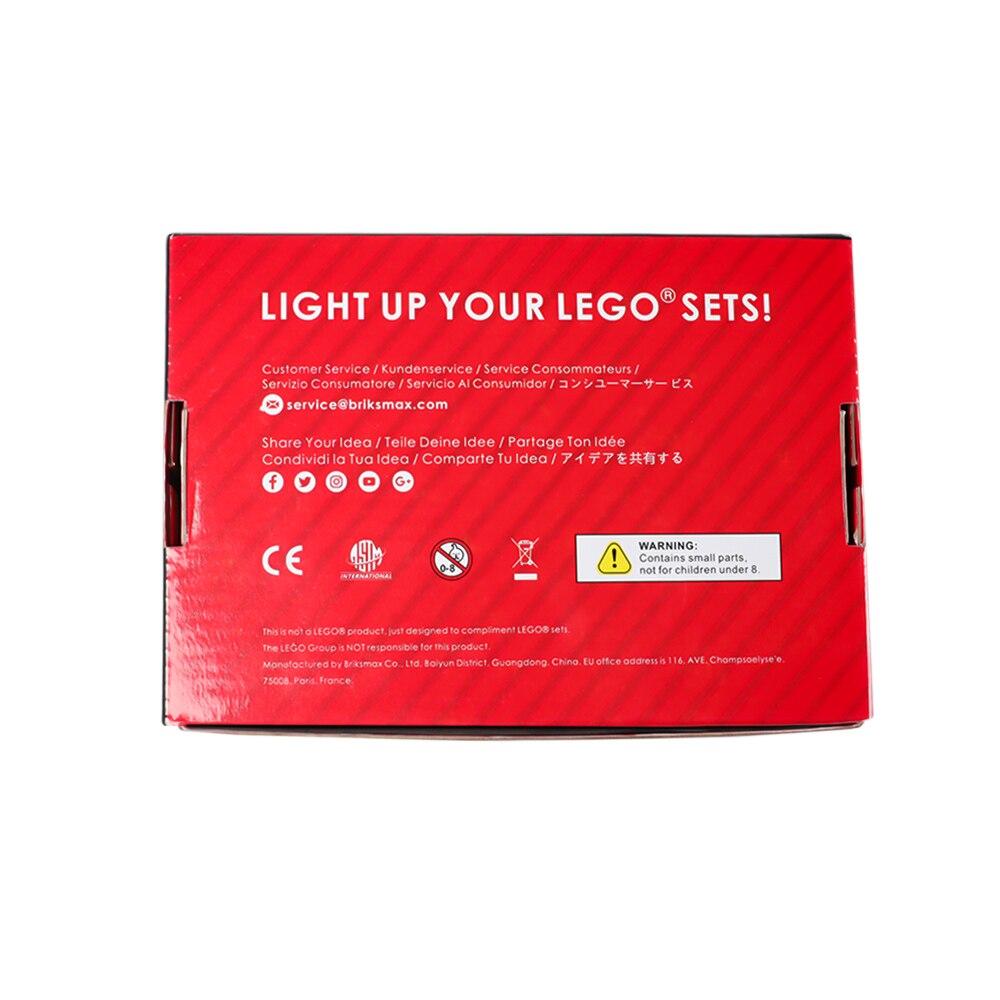 Купить с кэшбэком BriksMax Led Light Kit For 10246 Creator City Street Detective's Office