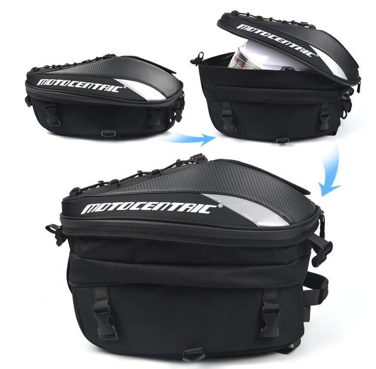 Новая Водонепроницаемая мотоциклетная сумка для хвоста многофункциональная прочная задняя Сумка для сиденья мотоцикла вместительная мотоциклетная сумка водителя рюкзак