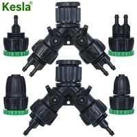 kesla gardens tap hose splitter adapter connector 12 34 to 14 38 12 16mm 811mm pipe barb 2 way 4 way tubing tool