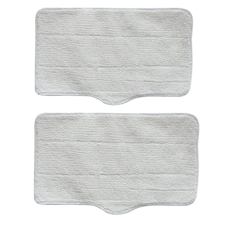 AD-2 Pcs Cleaning Mop Cloths Replacement for Deerma ZQ610 ZQ600 ZQ100 Steam Engine Home Appliance Pa