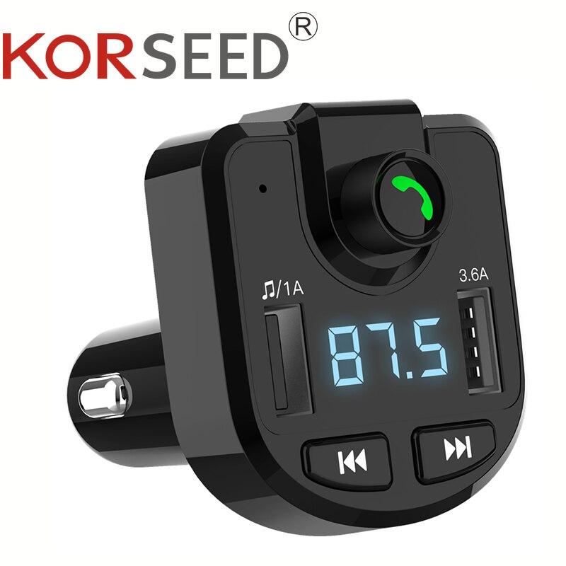 Cargador de coche Bluetooth 5,0 transmisor FM manos libres reproductor MP3 de coche carga USB para Xiaomi Redmi Note 8 Pro accesorios de teléfono