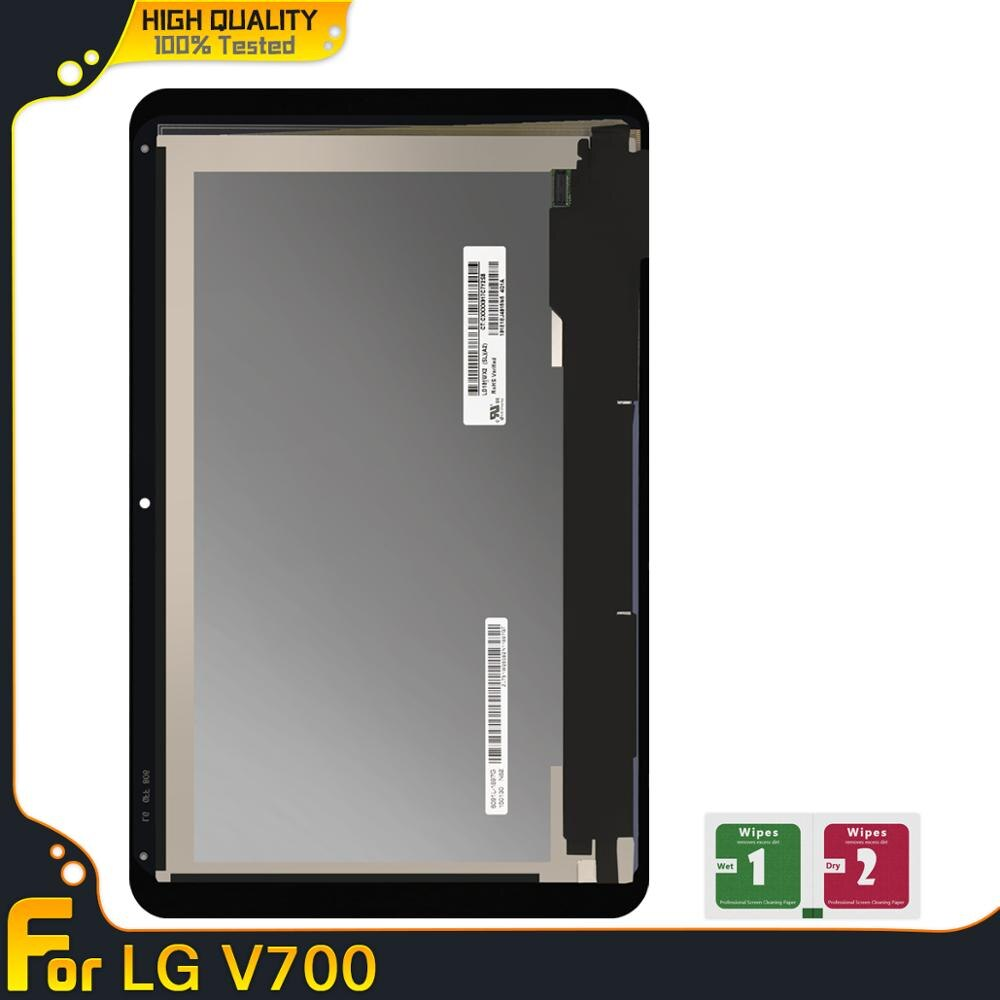 Pantalla para LG G Pad 10,1 V700 VK700 LCD pantalla digitalizador táctil montaje de repuesto