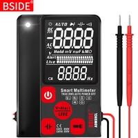 BSIDE דיגיטלי מודד במיוחד נייד 3.5 LCD תצוגת DC AC מד מתח אנלוגי בוחן DIY מד קיבול NCV אוהם hz tester