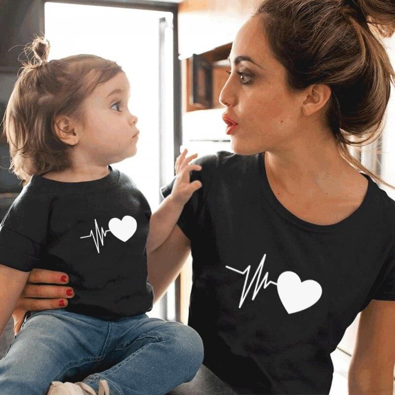 Семейные футболки для девочек и мальчиков; Семейные футболки для мамы и дочки и сына; Одинаковые футболки для всей семьи; Одежда для мамы и д...
