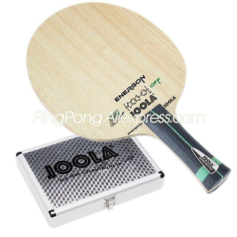 JOOLA ENERGON SUPER PBO-c/Energon PBO углеродный Алюминиевый Чехол лезвие для настольного тенниса/ракетка Оригинал Joola ракетка для пинг понга/весло