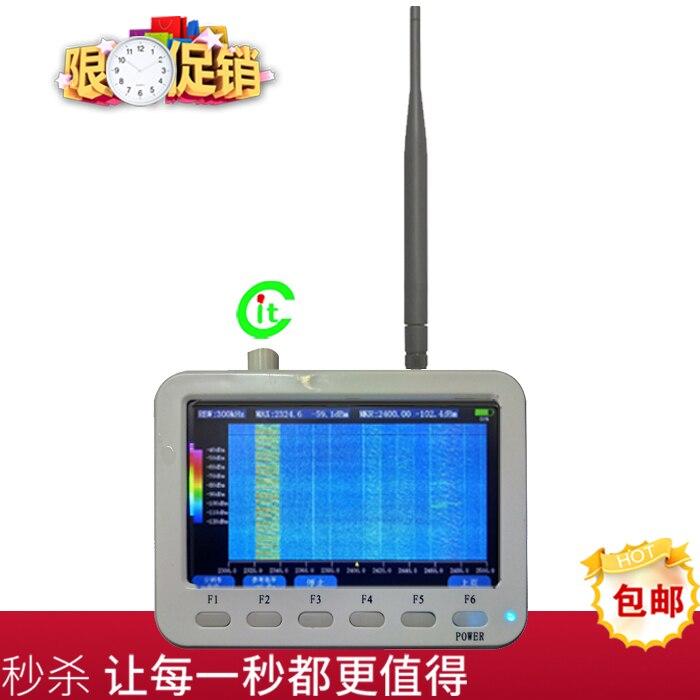 مطياف محمول باليد 240 متر ~ 960 متر NB IoT اختبار إشارة شبكة لورا اختبار إشارة