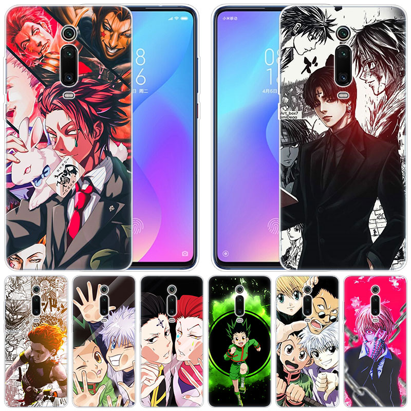 Funda de silicona suave de Anime Hunter X Hunter Hisoka para Xiaomi Pocophone F1 Mi 9T Pro CC9 CC9E 9 9SE 8 A3 A2 Lite A1 5X 6X Mix3 Play